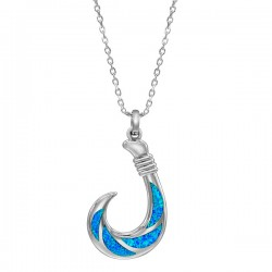 Hawaiian Fish Hook Pendant...