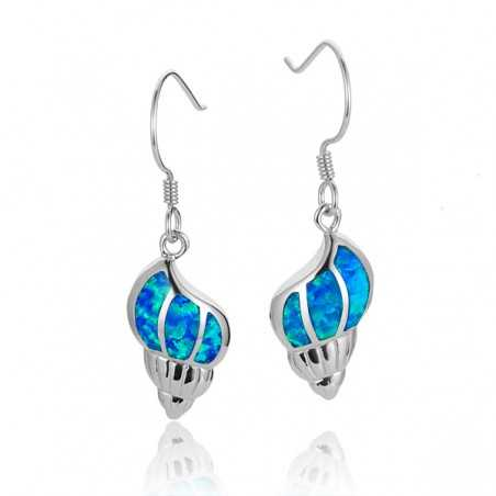 Conch Shell Earrings With...