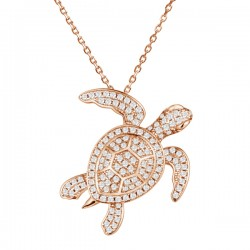 Full Pave Sea Turtle...
