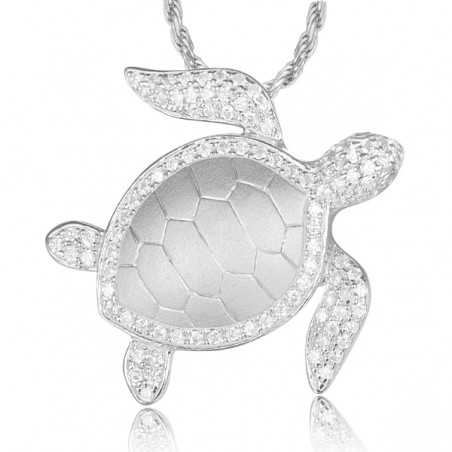 Sea Turtle Necklace With Chain