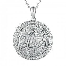 Sea Turtle Full Pave Round...