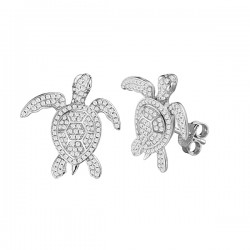 Sea Turtle Full Pave Studs