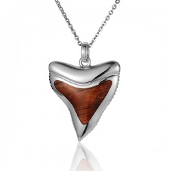Shark Tooth Pendant With...