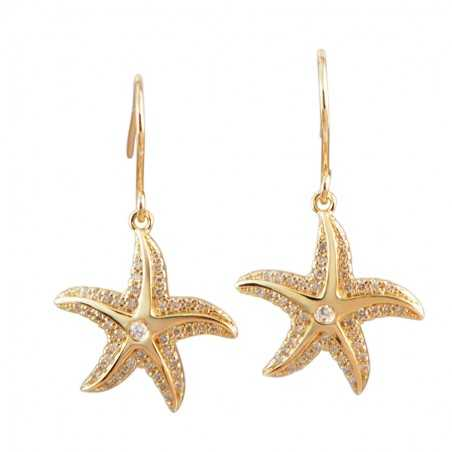 Starfish Earrings With...