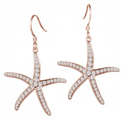 Thin Starfish Earrings