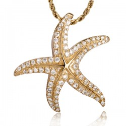 Starfish Pendant With...