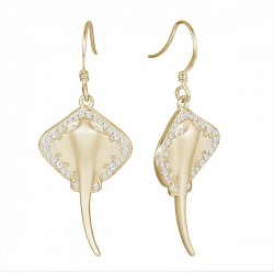String Ray Earrings