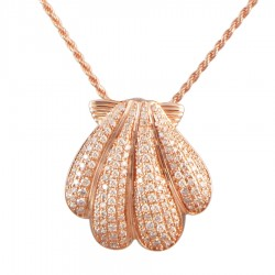 Sunrise Shell Full Pave...